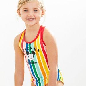 Hanna Andersson Sunblock One Piece Swimsuit Disney